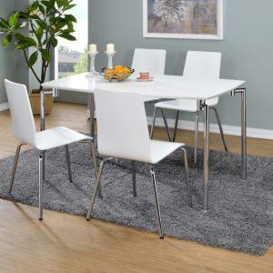 Dove Rectangular Dining Set