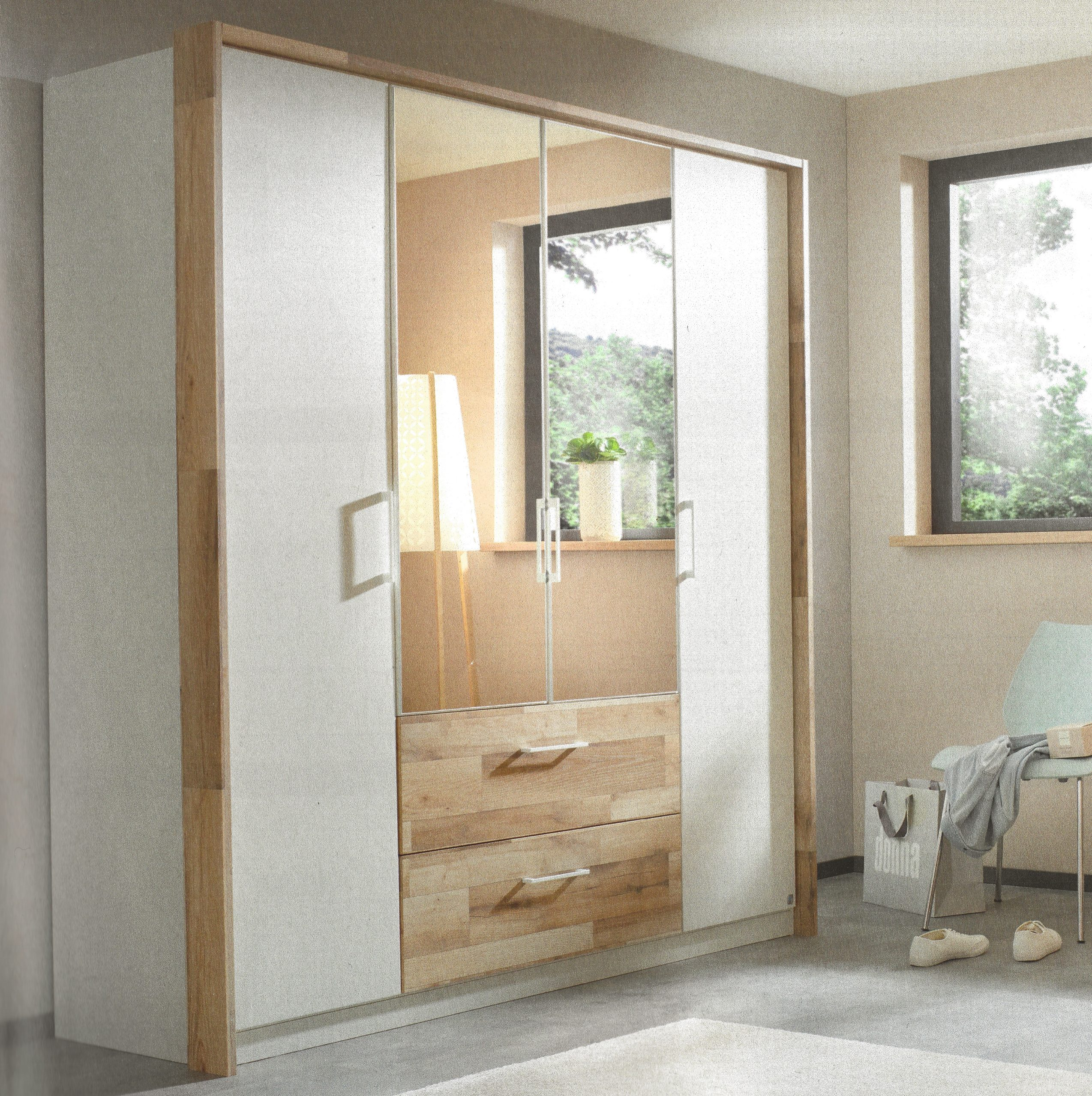 Rauch 'Pai' 4 Door Combination Wardrobe