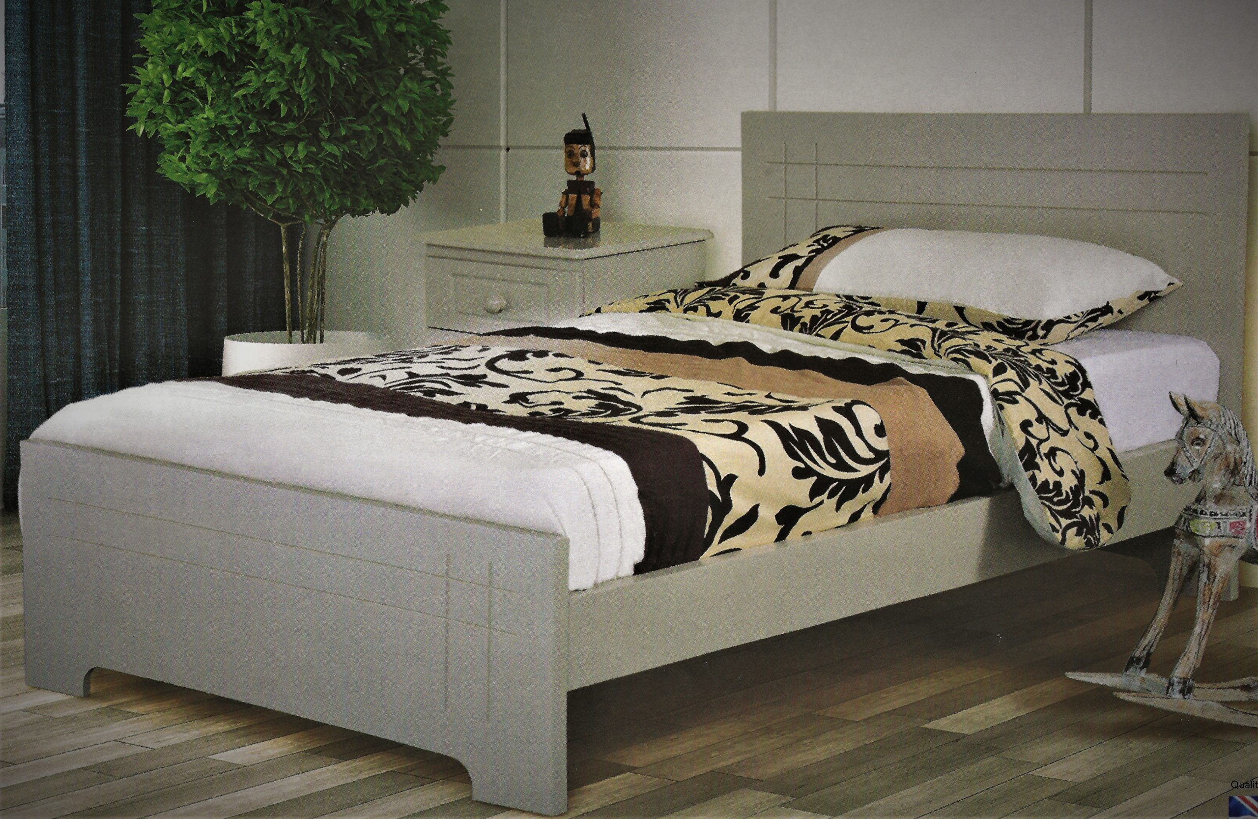 Double Roma Bedframes