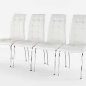 Lugano Chair White